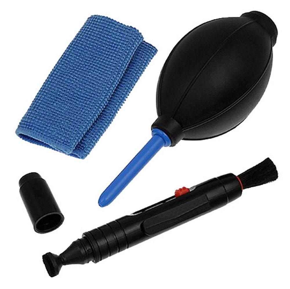 Mingjue Lensa Profesional Peralatan Pembersih Set dengan Pena Kain Pengering Rambut untuk Kamera (Canon, Nikon, Pentax, Sony) -Intl