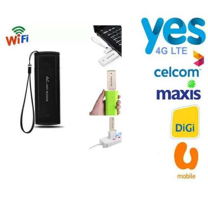 Mini Maxis 4G Wifi LTE Router USB Ponsel Modem MiFi 3G 4G Router Wifi untuk Digi, Celcom-Intl