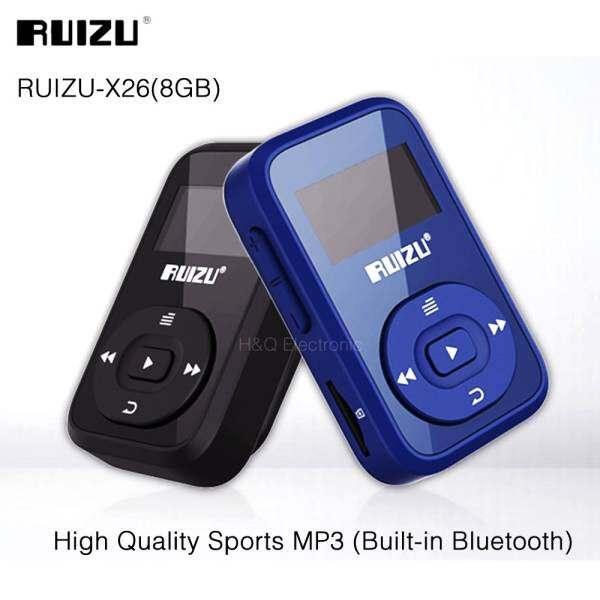 KAYO LanJi Mini Original RUIZU X26 Clip Bluetooth MP3 player 8GB Sport Bluetooth Mp3 Music Player