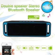 Mini Portable Newest Wireless Bluetooth Stereo Speaker TF USB Mic Malaysia