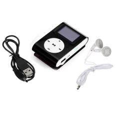 Mini USB Clip MP3 Player LCD Screen Support 32GB Micro SD TF Card BKMYR16. MYR