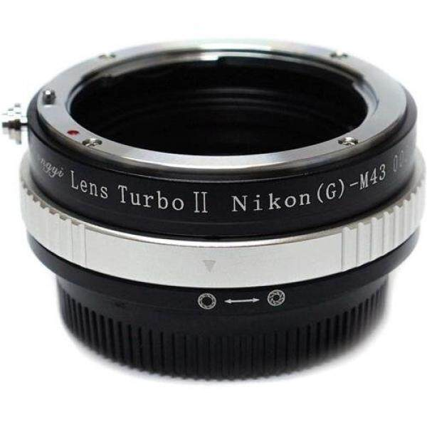 Mitakon Zhongyi Lens Turbo Adapter for Nikon G - M43 - Micro Four Thirds Camera, Version II (M43 / MFT) - intl