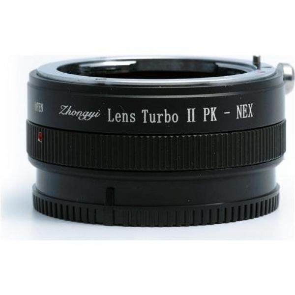 Mitakon Zhongyi Pentax K Lens to Sony E-Mount Camera Turbo Mark II Adapter, 4 Elements/ 4 Groups - intl