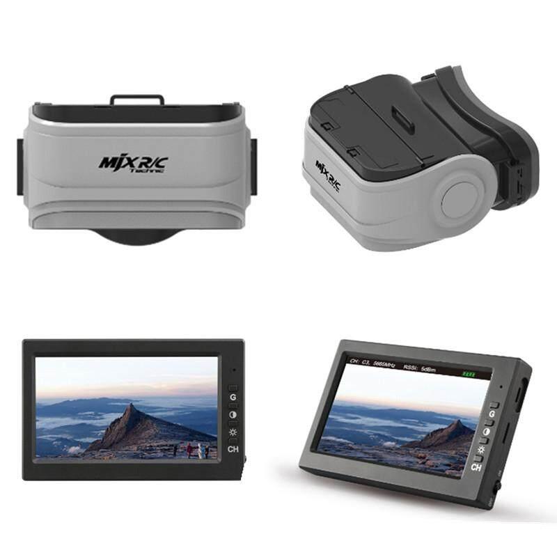 Mjx R/c Kacamata Vr G3 Untuk D43 5.8g Penerima Fpv Monitor/tampilan Layar-Intl By Audew.