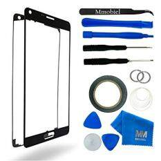 MMOBIEL Front Glass for Samsung Galaxy Note 4 N910 Series (Black) Display Touchscreen incl Tool Kit / Pre-cut Sticker / Tweezers/ Roll of Adhesive Tape / Suction Cup / Metal Wire / cleaning cloth