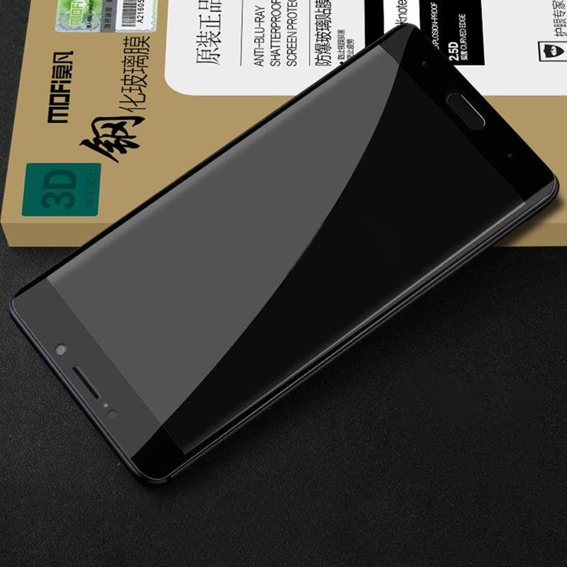 Buy Mofi Xiaomi Mi Note 2 3Mm 9H Surface Hardness 3D Curved Edge Anti Scratch Hd Full Coverage Tempered Glass Screen Protector Black Intl Sunsky Cheap