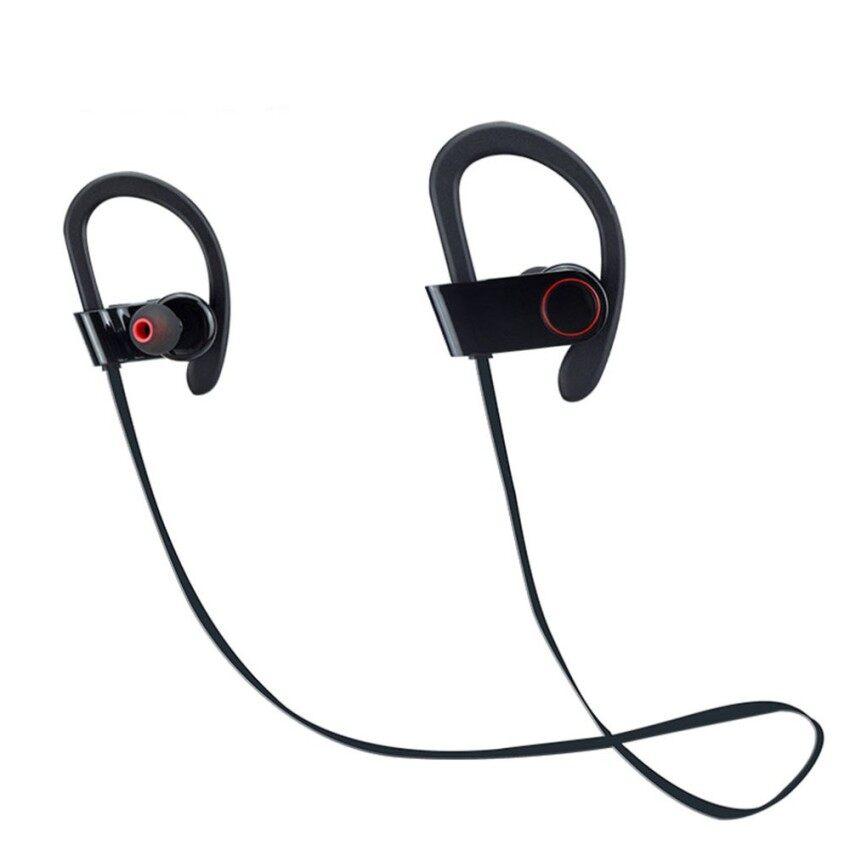 Moob Bluetooth Earbud, OXoqo Di Telinga Sport Headphone Terbaik dengan MicWireless Earphone IPX4 Sweatproof Kebugaran