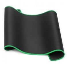 Moonar 60 30CM Edge Stitch Design Ultra Large Games Working Specified Mouse Mat Pad for PC Laptop (Green Edge) Malaysia