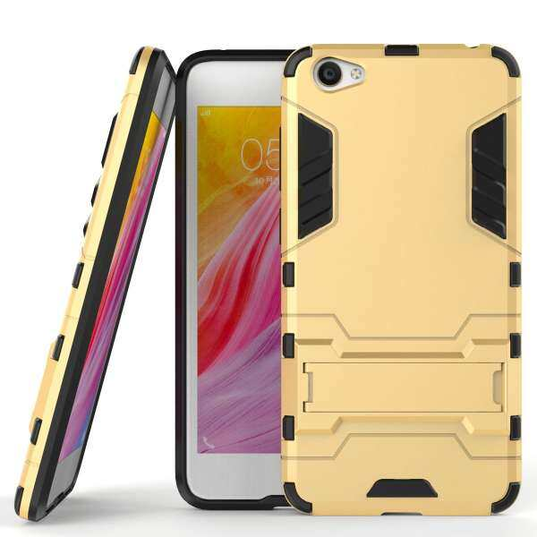 KAYO Mooncase Case For Vivo Y55 2in1 Hybrid with Soft Rugged TPU Inner
