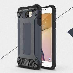 Moonmini Case for Samsung Galaxy J7 Prime Case Armor Combo Hard PC + Soft Silicon Back