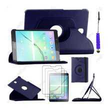 Moonmini 360 Degrees Rotating Flip Stand Case for Samsung Galaxy Tab S2