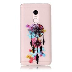 Moonmini Sarung untuk Xiaomi Redmi Note 4 Cahaya Neon Efek Bercahaya Lembut Case-Dream Catcher