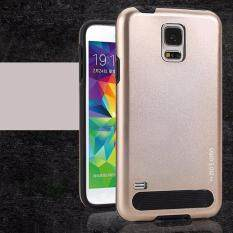 Motomo Armor Metal TPU Back Case for Samsung G.Note 4 (Gold)