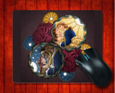 MousePad Beauty and The Beast (6) for 240*200*3mm Mouse mat Gaming Mice Pad Malaysia
