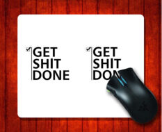 MousePad get shit done for 240*200*3mm Mouse mat Gaming Mice Pad Malaysia