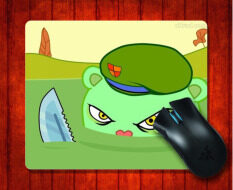 MousePad happy tree friends for 240*200*3mm Mouse mat Gaming Mice Pad Malaysia