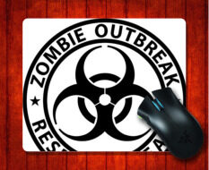 MousePad LIU Zombie Outbreak Response Team for Mouse mat 240*200*3mm Gaming Mice Pad Malaysia