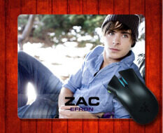 MousePad Zac Efron (7) for Mouse mat 240*200*3mm Gaming Mice Pad Malaysia