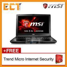 MSI GL62-7QF-1845 15.6 FHD Gaming Notebook (i7-7700HQ,1TB,8GB,GTX960M-2GB,W10Pro) Malaysia