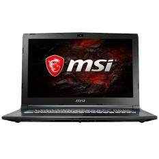 MSI GL62M 7REX-2452 15.6 FHD Gaming Laptop Black TA (I7-7700HQ, 4GB, 1TB+128GB, GTX 1050Ti 4GB, W10) Malaysia