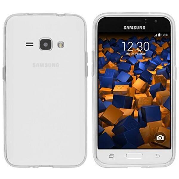 Mumbi Schutzh? pesan Tiket F? R Samsung Galaxy J1 (2016) H? pesan Tiket Transparan Weiss (Nicht F? R DAS Galaxy J1-J100H dari 03.2015)-Intl