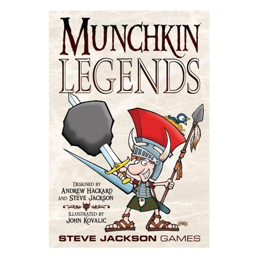 Munchkin Legends Card Game - intl
