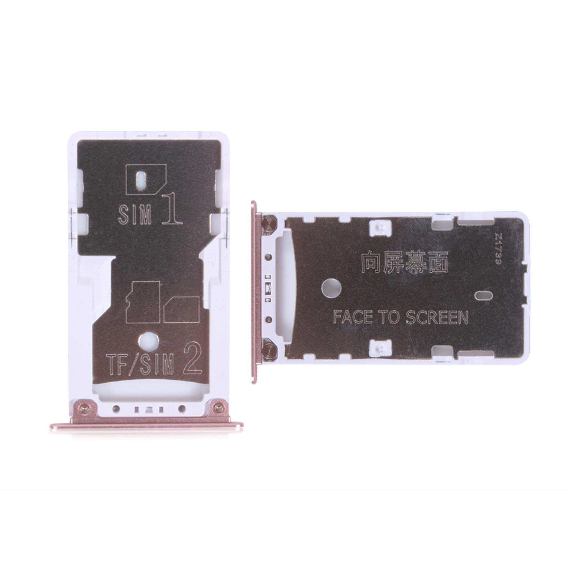 Nano Kartu SIM Micro Sd Tempat Kartu Slot Pengganti Adaptor Perbaikan Bagian untuk Xiaomi Redmi 4X-Intl