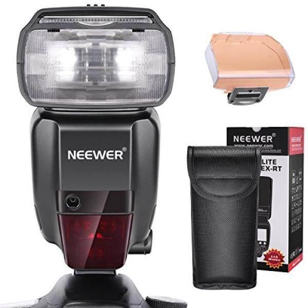 Neewer 2,4G HSS 1/8000 S TTL GN60 Kabelloser Master Slave Flash Speedlite F? R Canon 7D Mark II 5D MARK II III IV 1300D 1200D 750D, 700D, 600D, 80D Und Andere Canon DSLR Kamera (Nw600ex-rt)-Intl