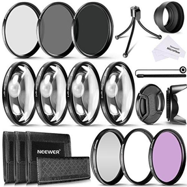 Neewer 52 Mm Kamera Objektive Perlengkapan Filter Inklusive 52 Mm Nahaufnahme Makro-Filter (+ 1 + 2 + 4 + 10) filter ND (ND2 ND4 ND8) Filter (UV-CPL Field) Gegenlichtblende Und Anderes Zubeh? R F? R Objektive MIT 52 Mm Filtergr? ��e-Intl