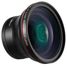 MYR 190. Neewer 58MM 0.43X HD Wide Angle Lens with Macro Close-Up Portion Lens No Distortion for Canon EOS Rebel 700D 650D 600D 550D 500D 450D ...