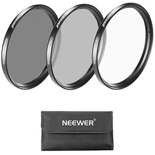 Neewer 67 Mm Objektiv Filter-Set: UV Filter + Filter CPL + ND4 Filter + Filterbeutel + Reinigstuch F? R Canon Pemberontak MIT EOS 18-135 Mm EF-S IS STM Zoom-Objektiv, nikon 18-105 Mm F/3.5-5.6 AF-S DX VR Ed Zoomobjektiv-Intl