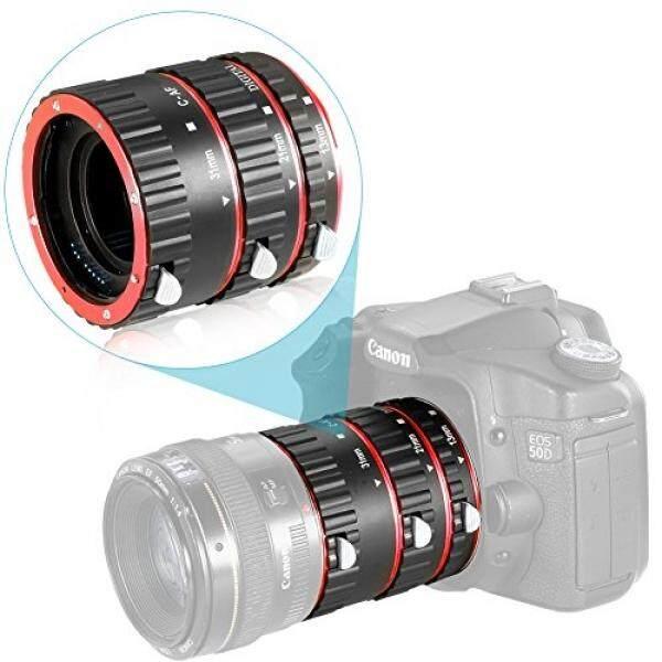 Neewer Autofokus Makro Verl? ngerungsrohr Rohr Set F? R Canon EOS DSLR SLR-Objektiv, Close-Up Tabung Set (Merah)-Intl