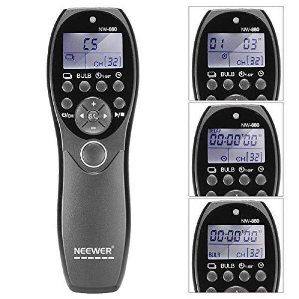 Neewer LCD Display Fernausl? ser Timer Fernbedienung Yp-880/N3 F? R Canon EOS 7D, 5D Serie, 1D 6D 50D 40D 30D 20D 10D Kameras-Intl