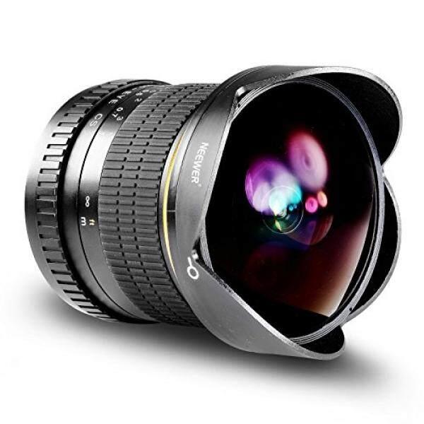 Neewer PRO 8 Mm F/3.5 Aspherical Fisheye Definisi Tinggi-Objektiv F? R Nikon DSLR 8? 8 Mm MIT Schutz Tutup Lensa, Abnehmbare Gegenlichtblende Und Tragetasche-Intl