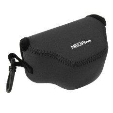 NEOpine Neoprene Shockproof Soft Case Bag with Hook for Nikon J4 Camera(Black)