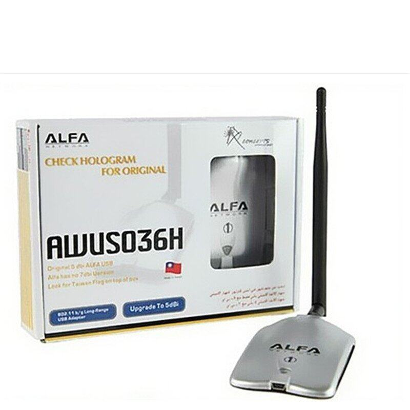 NEW ALFA AWUS036H 150Mbps High Power 1000MW WIFI USB Adapter 5DB Antenna  Ralink