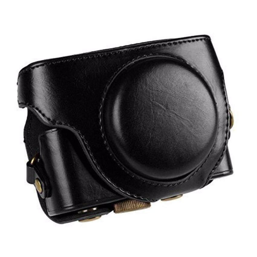 Kamera baru PU Kulit Kasus Tas Kamera Pouch Untuk Sony DSC-RX100IIIM3 RX100 III RX-100 RX100III RX100 M3 RX100 4 M4