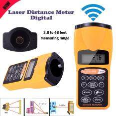 New Laser Distance Meter Digital Ultrasonic Range Finder Measure Tape Diastim Malaysia