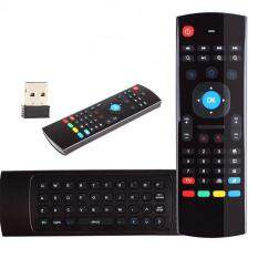 New MX3 2.4GHz Air Mouse Wireless Keyboard Remote Voice Control Genuine Android Malaysia