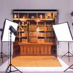 New Photography Backdrop Silk Poster Home Room Decor Props Lighting Kit 25X23'' Size 900X600mm