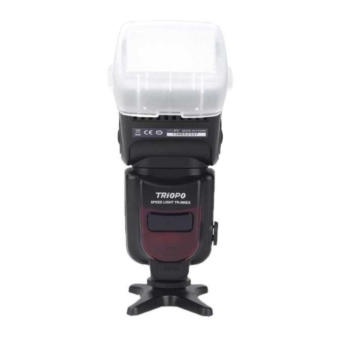 New Triopo TR-586EX Wireless Flash Mode TTL Flash Speedlight Speedlite For Canon EOS 550D 60D 5D Mark II as YONGNUO YN-568EX II - intl