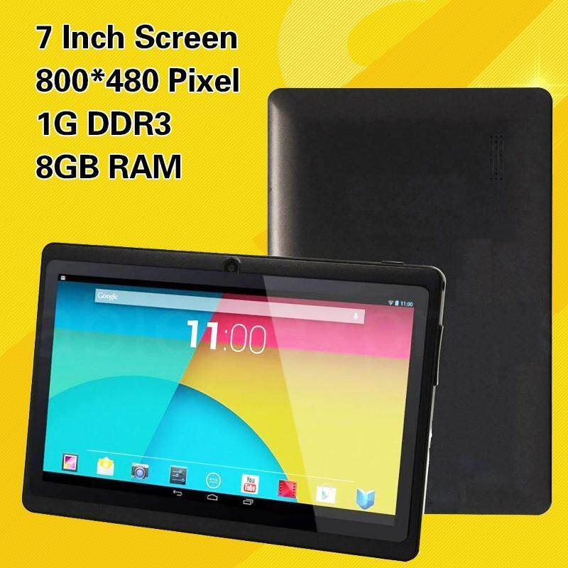 Free Gift  Newworldmall 7 Google Q88H A33 Android 4.4 Camera WiFi 1G/8GB Tablet PC Quad Core Tab Black