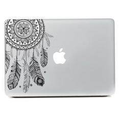 Newworldmall Retro Feather Pattern Vinyl Decal Sticker For Macbook Air Retina Laptop By Newworldmall.