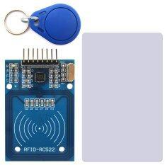 NFC RFID-RC522 RF IC Card Sensor RFID Reader Module w/ S50 Card / Keychain for Arduino
