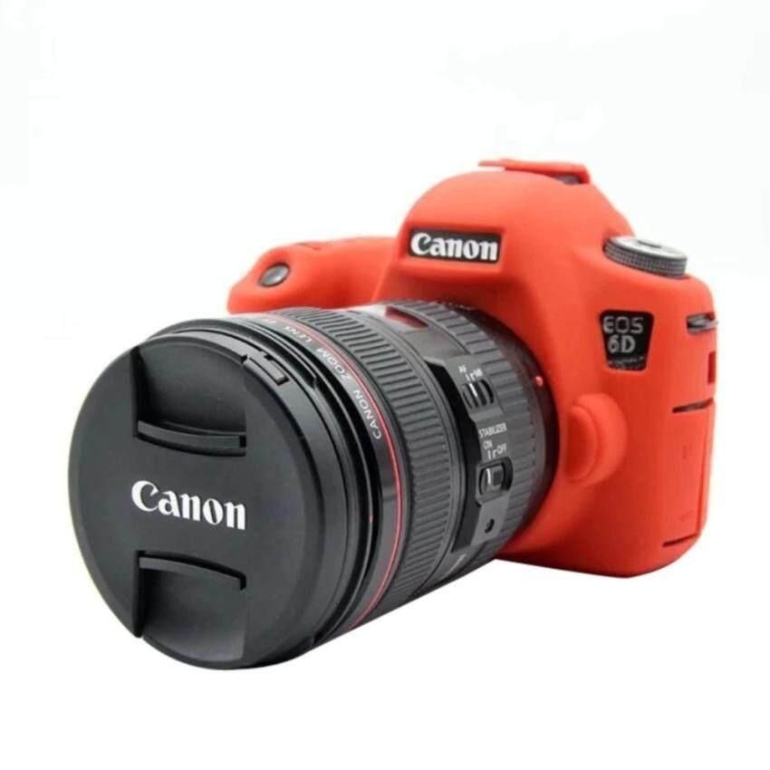 Nice Soft Silicone Rubber Camera Protective Body Cover Case SkinFor Canon EOS 6D Camera Bag