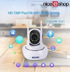 Rp 398.000. Niceeshop Sistem Keamanan Rumah Kamera Nirkabel, HD 720 P Pan/Tilt Kamera Ip Hari Modus Malam P2P Wifi Indoor Inframerah CCTV ...