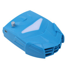 niceEshop Laptop Cooler with Vacuum Fan, Laptop Air Extracting Cooling Fan (Blue) Malaysia