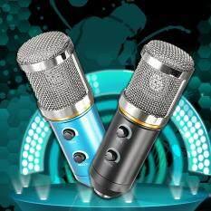 Niceeshop PC Mikrofon Kondensor, Mikrofon Suara Kompatibel dengan PC Komputer Laptop, sempurna untuk Podcasting/Bernyanyi/GAME/Obrolan Suara Di Skype Msn/Youtube/Yahoo Rekaman Hitam