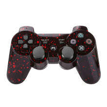 Niceeshop Snowflake Remote Controller Wireless for PS3 Red