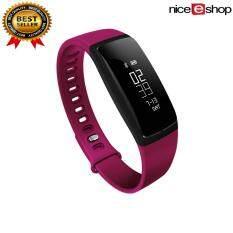 5876532501a MYR 85 niceEshop Smart Band Blood Pressure Watch V07 Smart Bracelet Watch  Heart Rate Monitor SmartBand Wireless Fitness ...